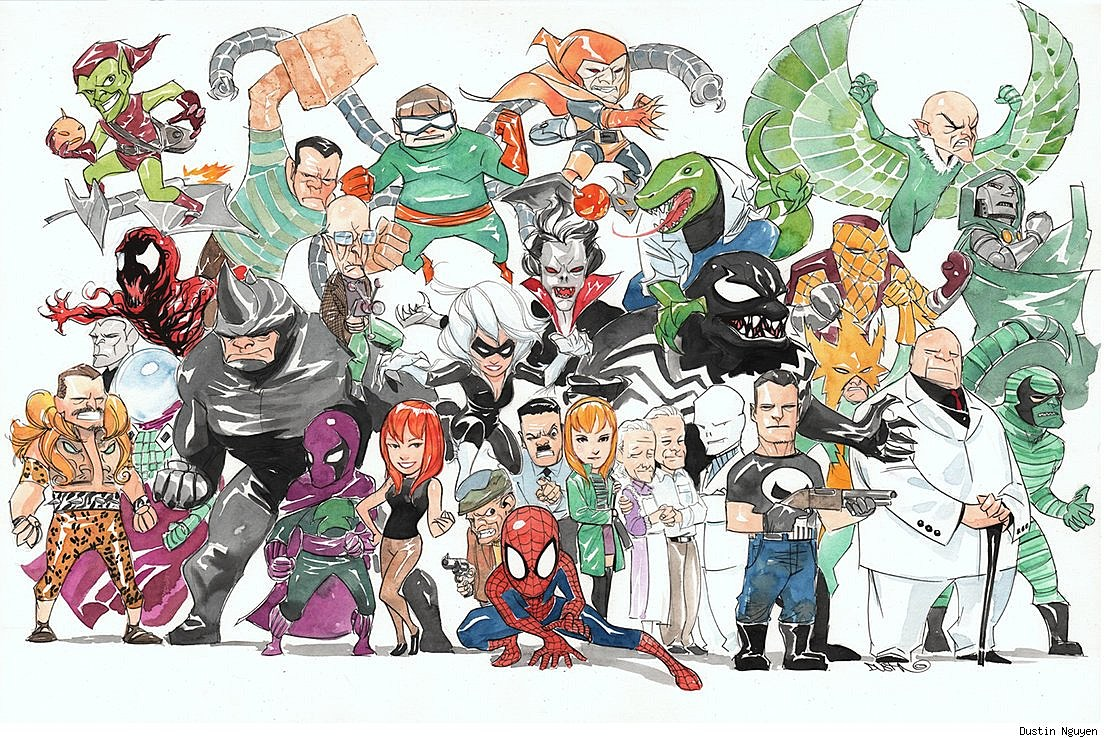 Why Dustin Nguyen is Too Awesome (Really) [Art]