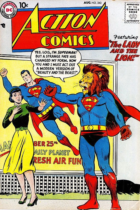 Superman Comic Book White Cover : The most awesome 'action comics covers of all time