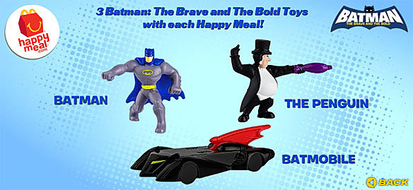 More 'Batman: The Brave and the Bold' Happy Meal Toys ...