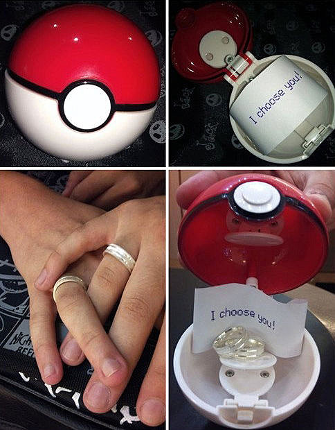 pokemon marriage proposal is super effective
