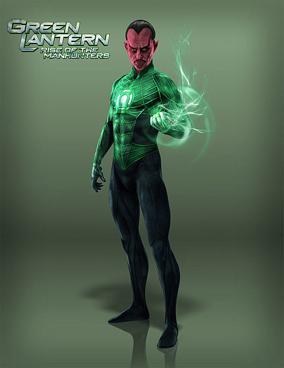 new green lantern rise of the manhunters nintendo 3ds trailer and character renders arrive
