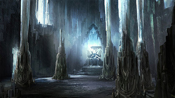 Thor Movie Concept Art Takes You To The Halls Of Asgard