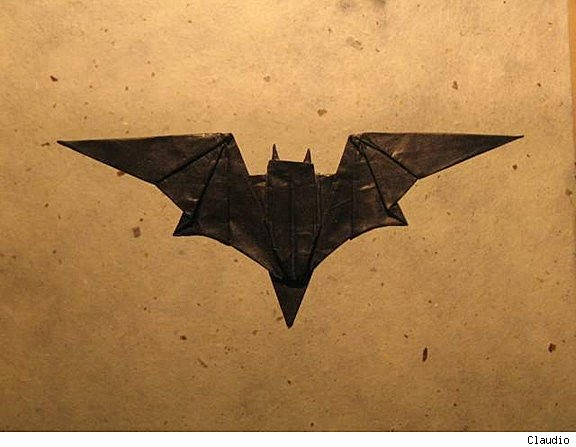 the dark knight folds impressive batman origami art
