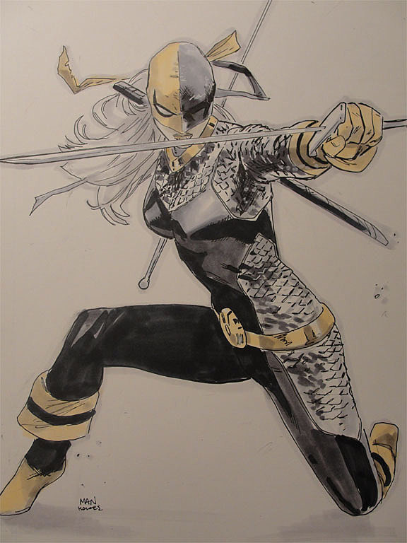 Elektra Karate Kid And More Collide In The Sketches Of