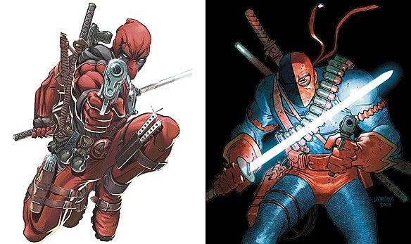 Deadpool and Deathstro...