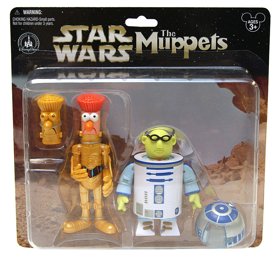Toys Star Wars : Star wars muppets action figures coming to disney theme