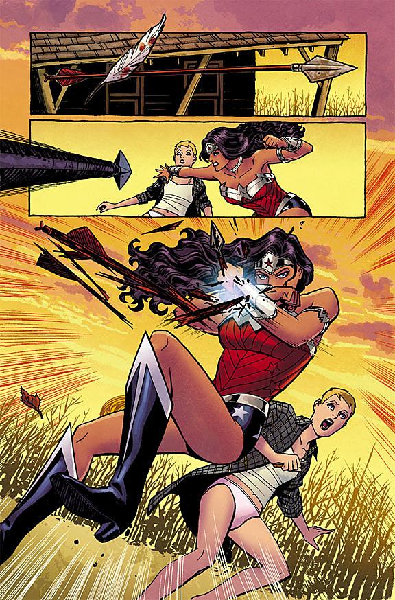 Wonder Woman New 52 Pants 'DC: The New ...