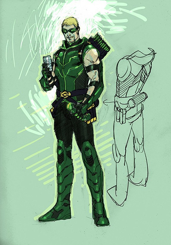 the dc comics sketch gallery of redesigned characters from the new 52  comic
