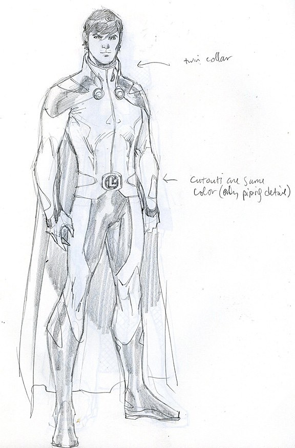 The Dc Comics Sketch Gallery Of Redesigned Characters From