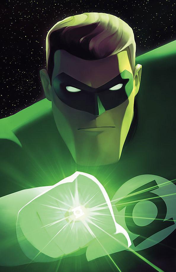 green lantern the animated series 0 by dario brizuela exclusive