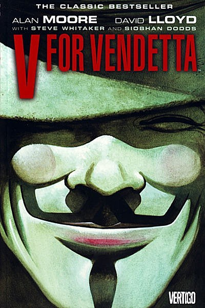 V For Vendetta Movie Cover Rise of 'Anon...