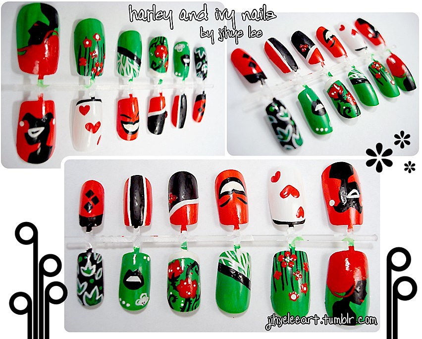 Superhero manicures comic strips at your finger tips fashion prinsesfo Image collections