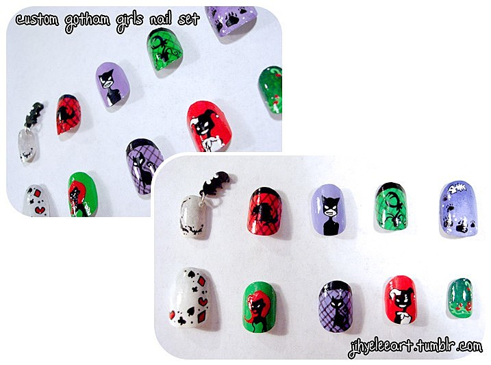 Superhero Manicures: Comic Strips at Your Finger Tips [Fashion]