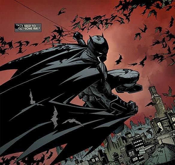 Comics Batman New 52 Batman's Current Costume