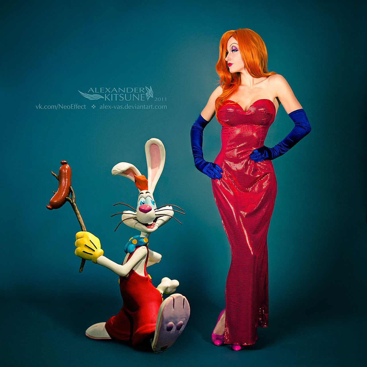 roger rabbit framed cosplay Who