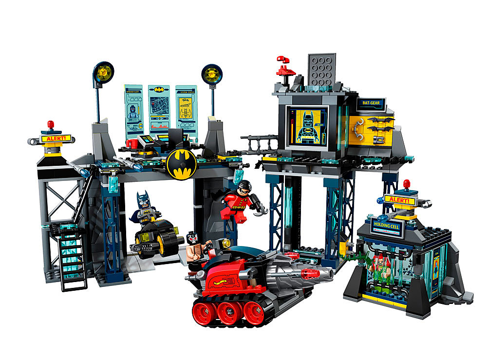 Lego's Upcoming Batcave Adds 'The Dark Knight Rises' And '60s TV ...