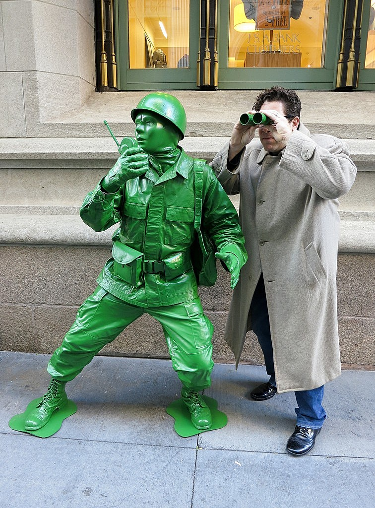 Cool Toy Army Men : Best cosplay ever this week