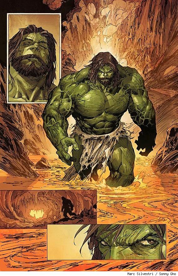 incredible hulk art gallery - photo #13