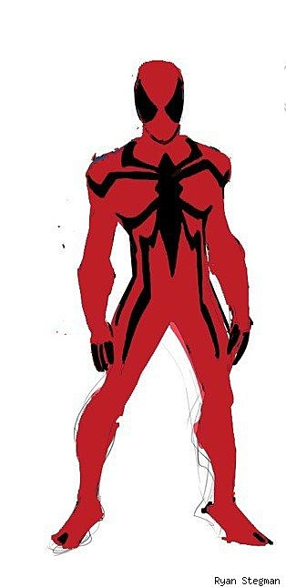 Scarlet spider costume - photo#20