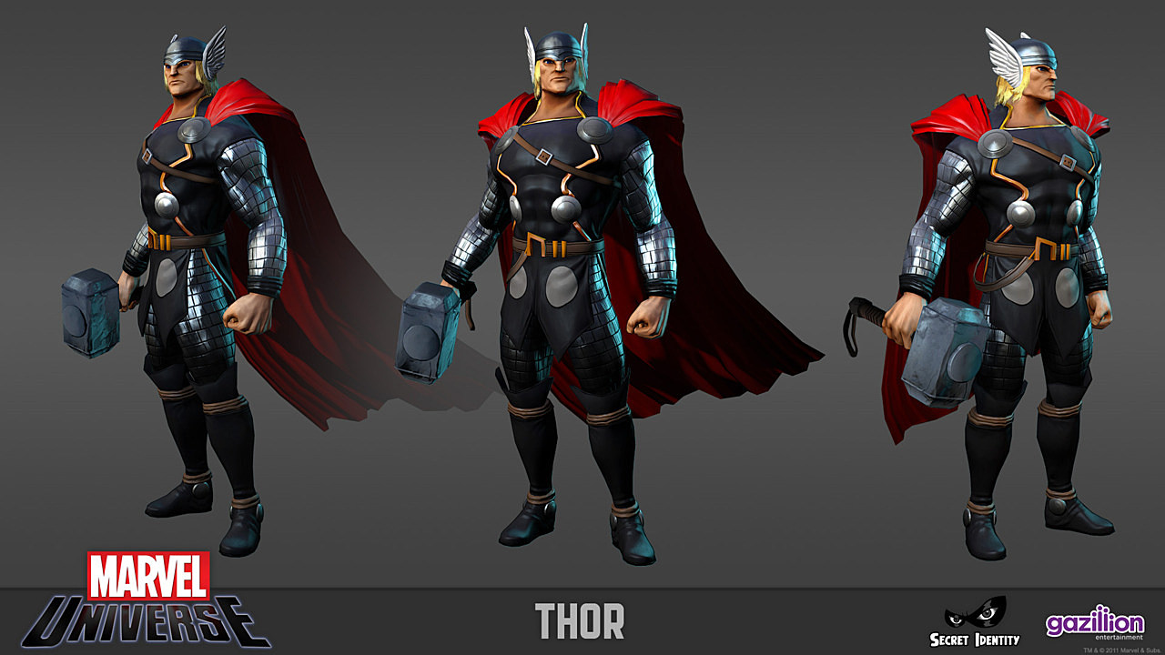 Game Character Design Contest : Marvel universe mmo officially named 'marvel heroes