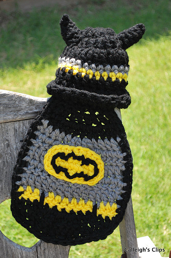 Parting Shot Baby Batman And Robin Crochet Patterns