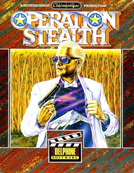 20 amazingly weird pieces of 39 classic 39 video game box art for Operation stealth