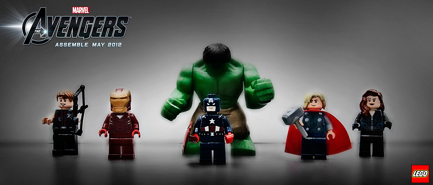 6 Lego Avengers Malvorlagen: First Images Of 'The Avengers' Lego Sets Assemble [Toy