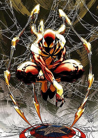Iron Spider Costume  Iron Spider  costume