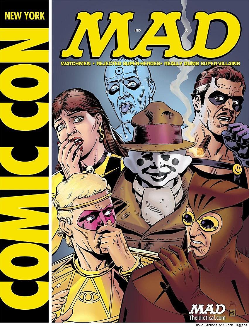 MAD's 'Botchmen' Explores The Lighter Side Of 'Watchmen'