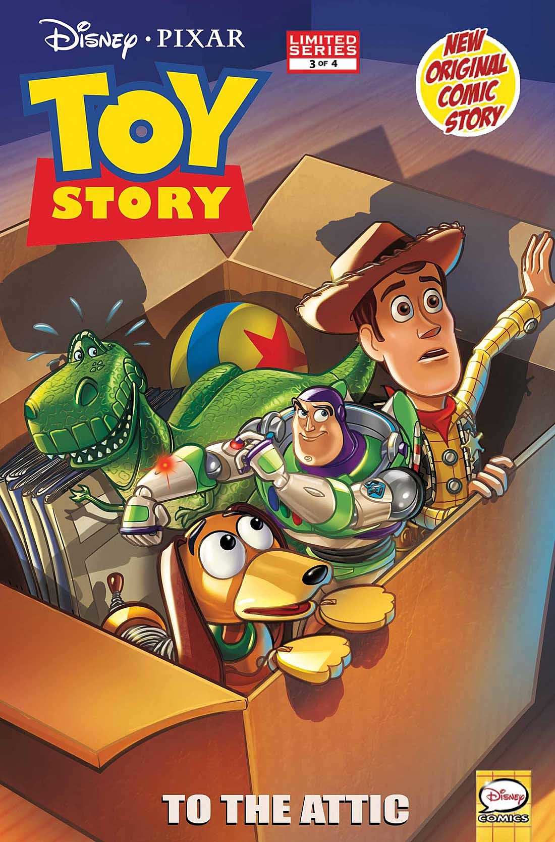 Toy Story 4 2012 : Marvel and icon comics on sale in may solicitations