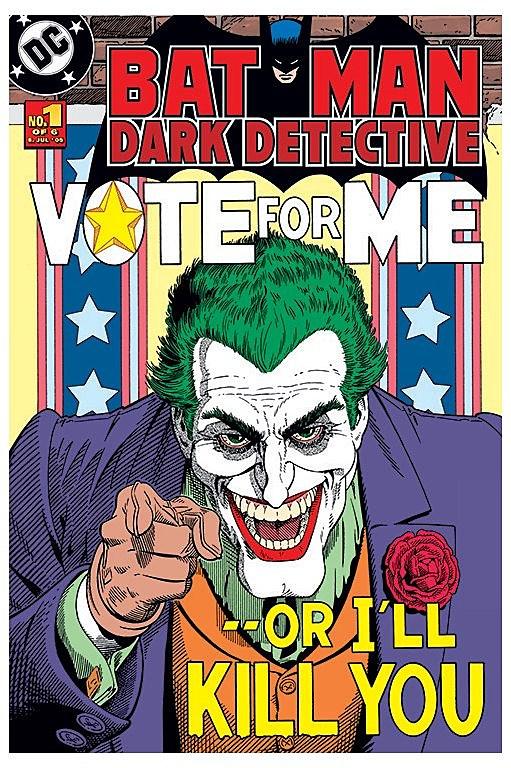 that the Joker will kill Joker Comic Poster