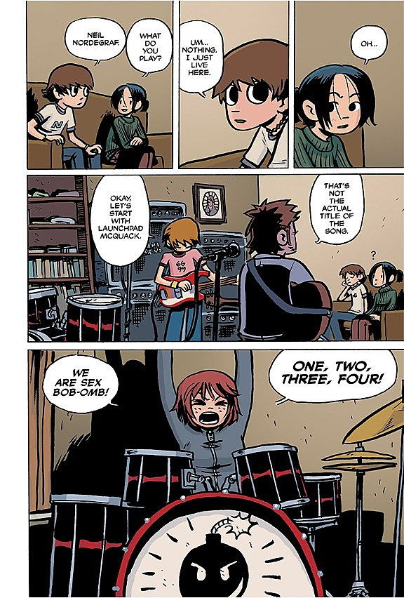 volume 1 scott pilgrims precious little life will go on sale in august with volume 2 to follow in october the remaining scott pilgrim hardcovers will be - Scott Pilgrim Books In Color