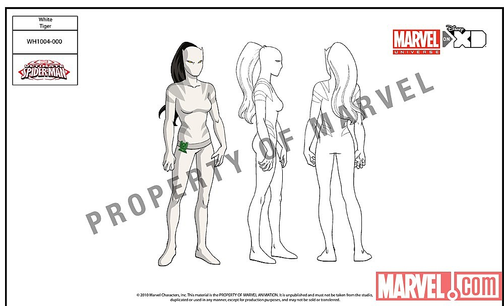 Ultimate Spider-Man    Animated Series Reveals its White TigerHow To Draw Ultimate Spider Man