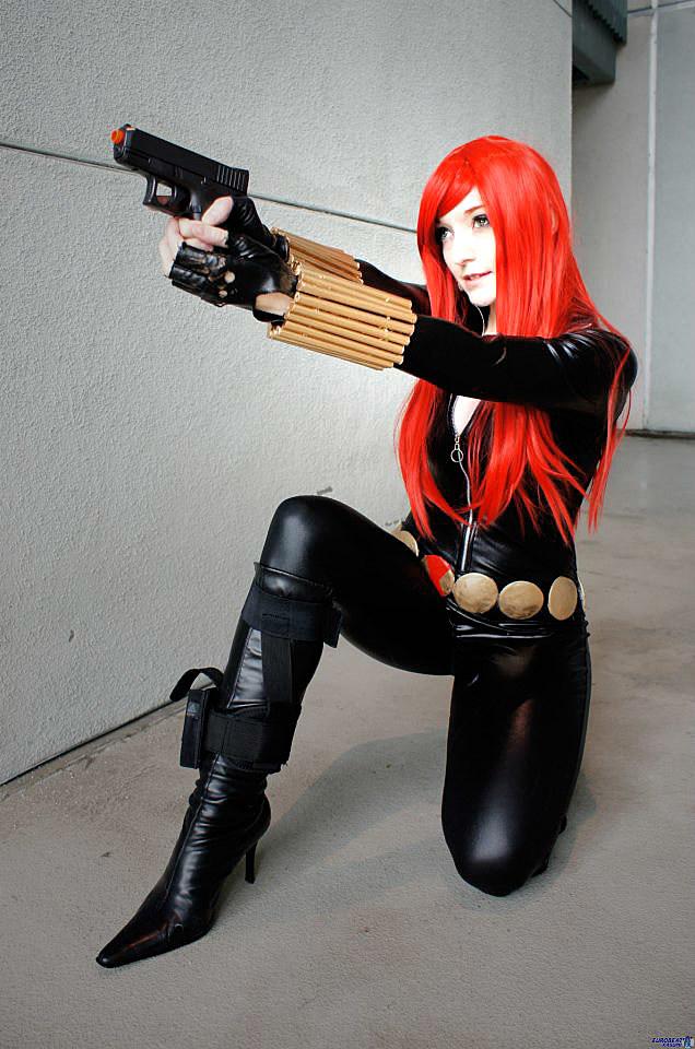 Black widow marvel costume diy