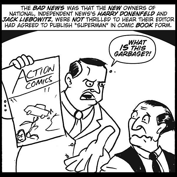 the birth and history of comix Cleveland residents jerry siegel and joe shuster created the first comic book superhero, using nothing more than their imagination and various influences from.