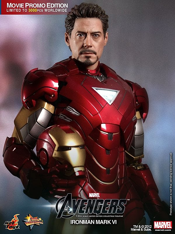 Hot Toys Armors Up Super Rare 'The Avengers' Movie 1/6 ...