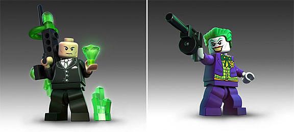 Villans Batman Lego Game
