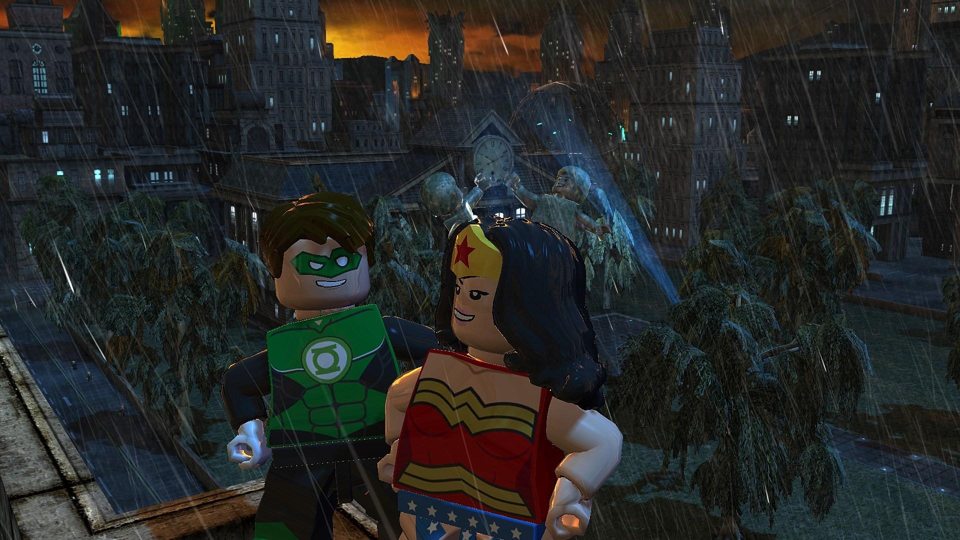 New lego batman 2 trailer and stills show off the flash aquaman
