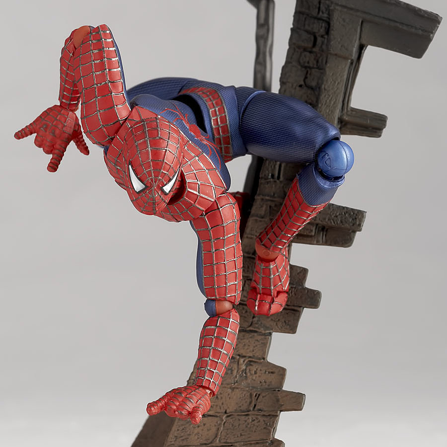 Coolest Man Toys : Kaiyodo reveals more 'spider man ′ revoltech images