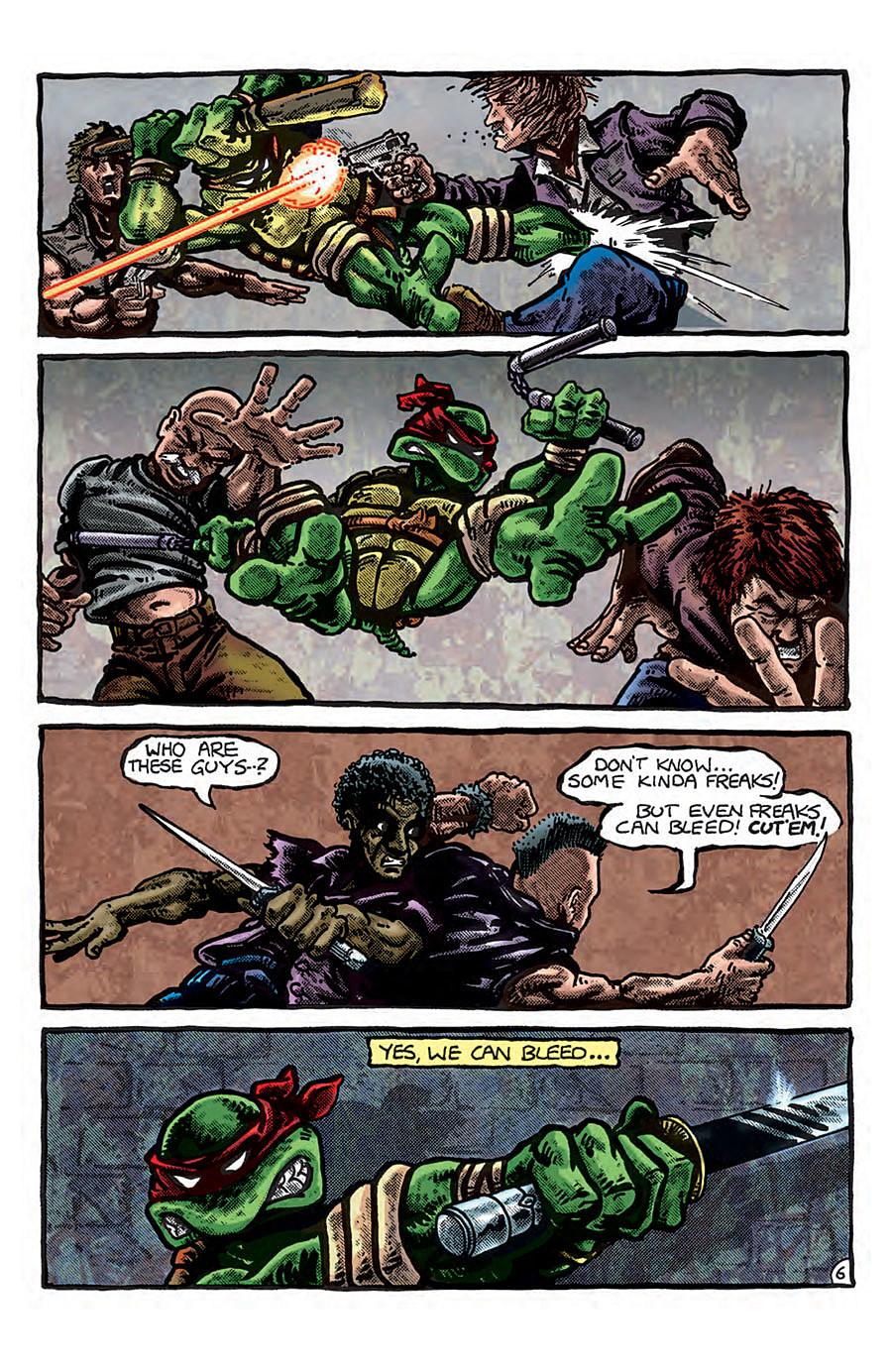 Teenage Mutant Ninja Turtles Color Classics 1 Comes Out