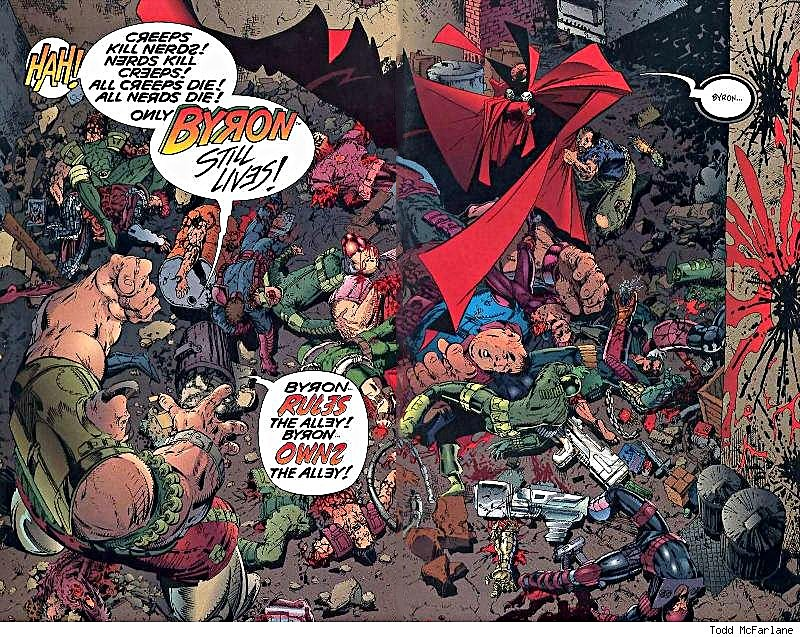 Image result for Spawn killing comics
