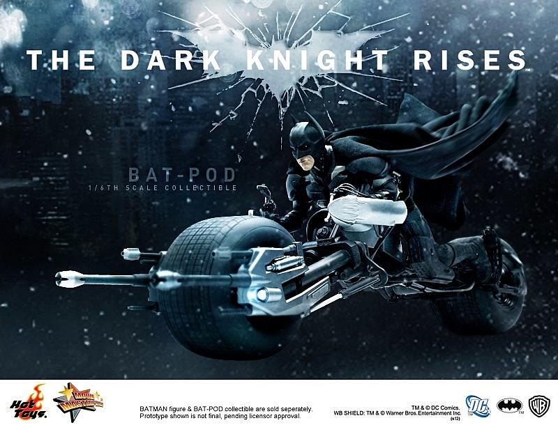 The dark knight rises batpod
