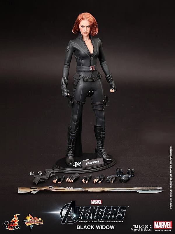 hot toys debuts �the avengers� black widow 16 scale