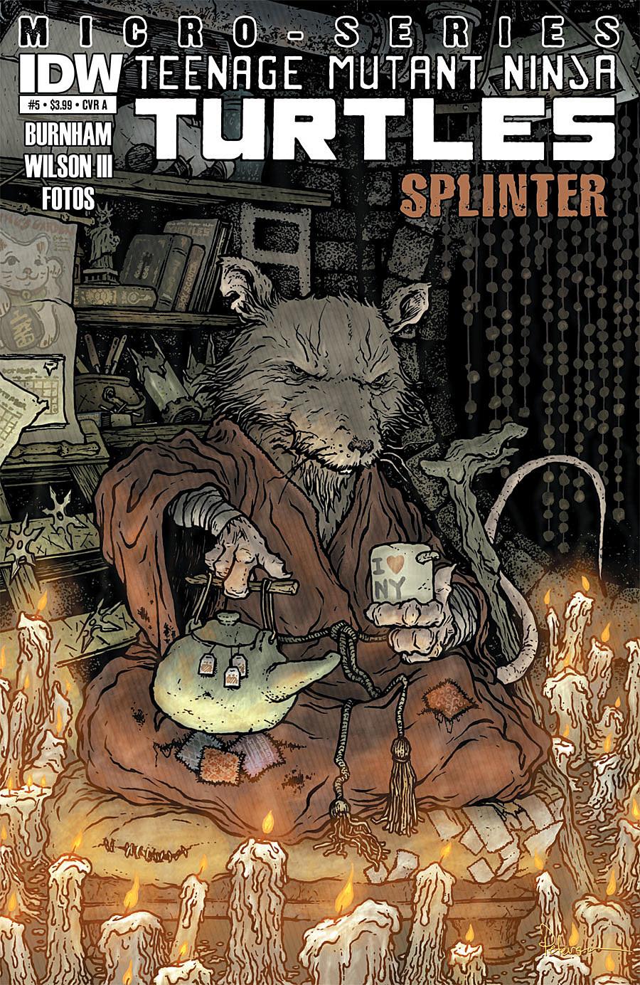 Splinter Takes Center Stage in 'Teenage Mutant Ninja ...