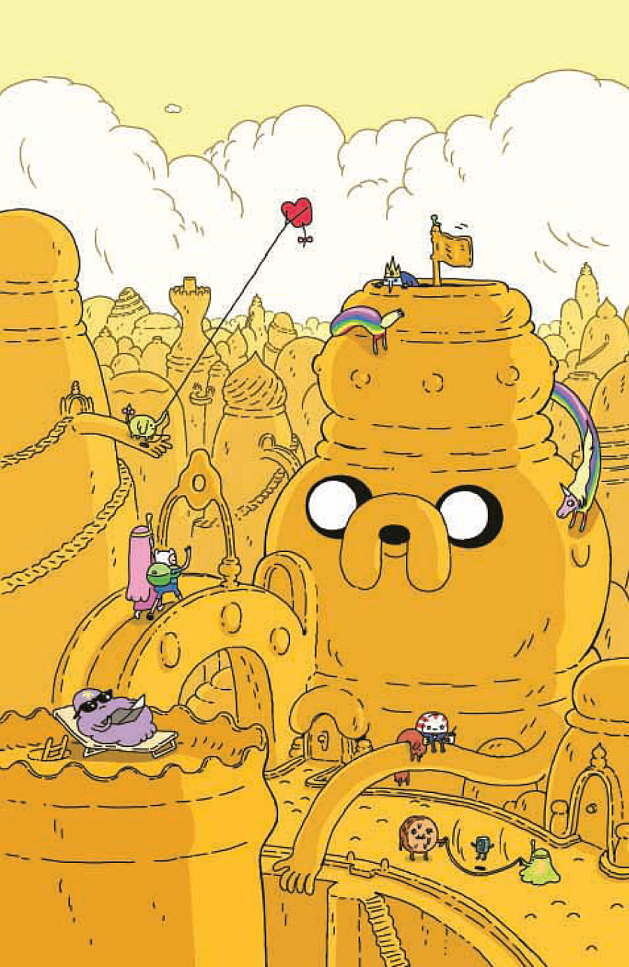 Anthony Clark Works Comic Wizardry In His Adventure Time