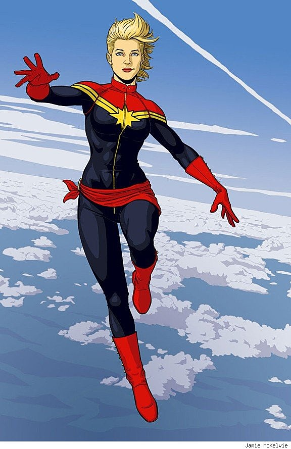 captain marvel girl or boy