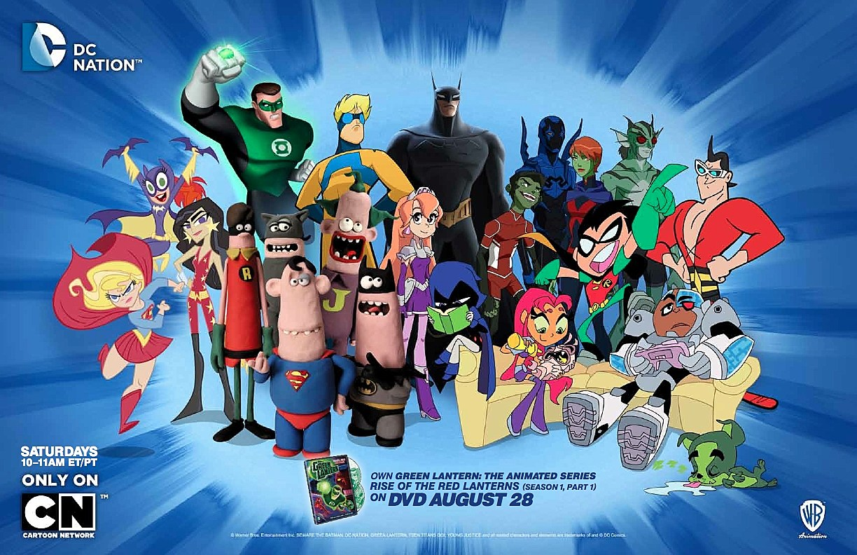 Get An Early Look At The SDCC 2012 DC Nation And MAD Posters