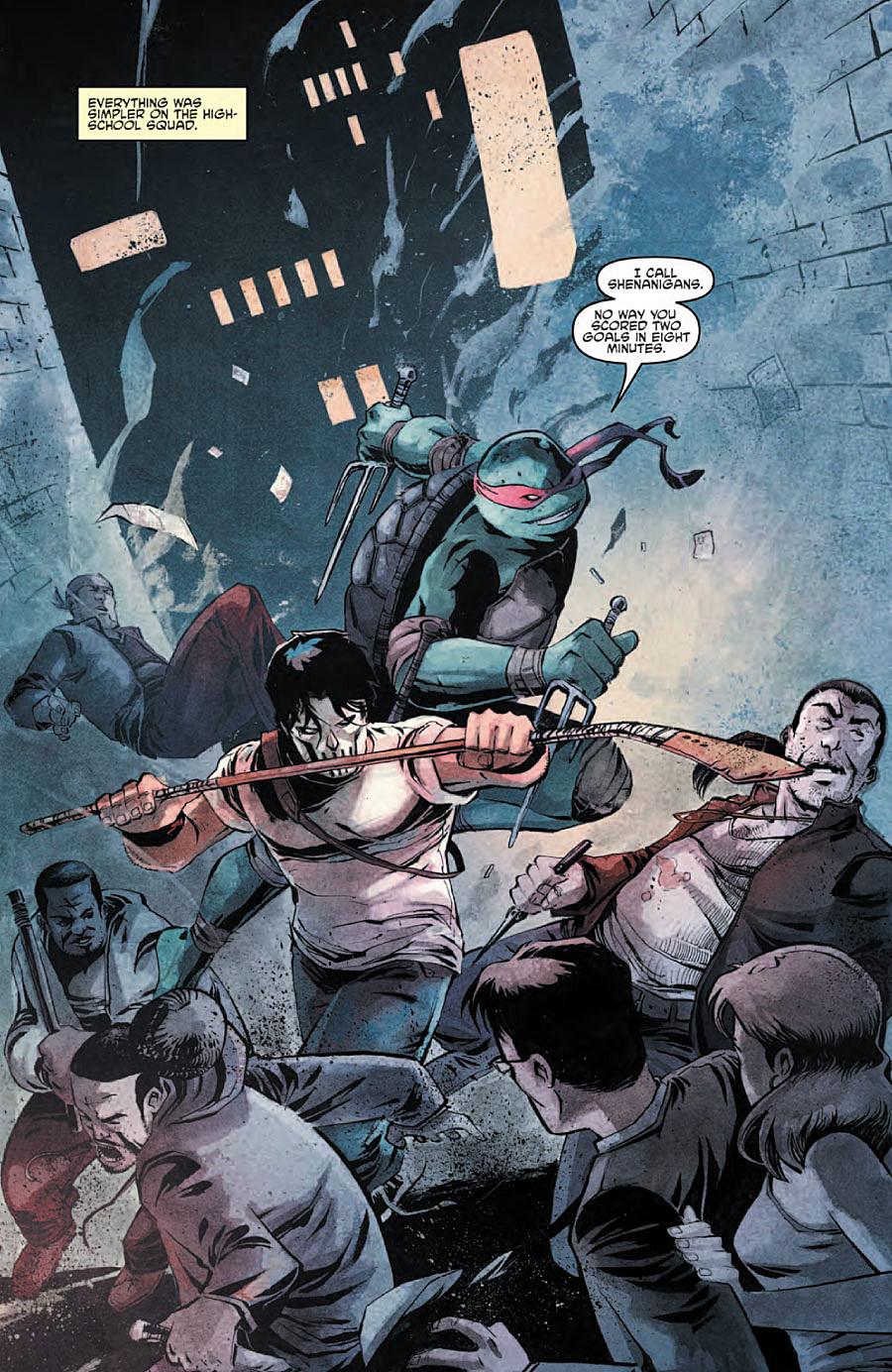 Casey Jones Gets The Spotlight In 'Teenage Mutant Ninja ... - photo#30