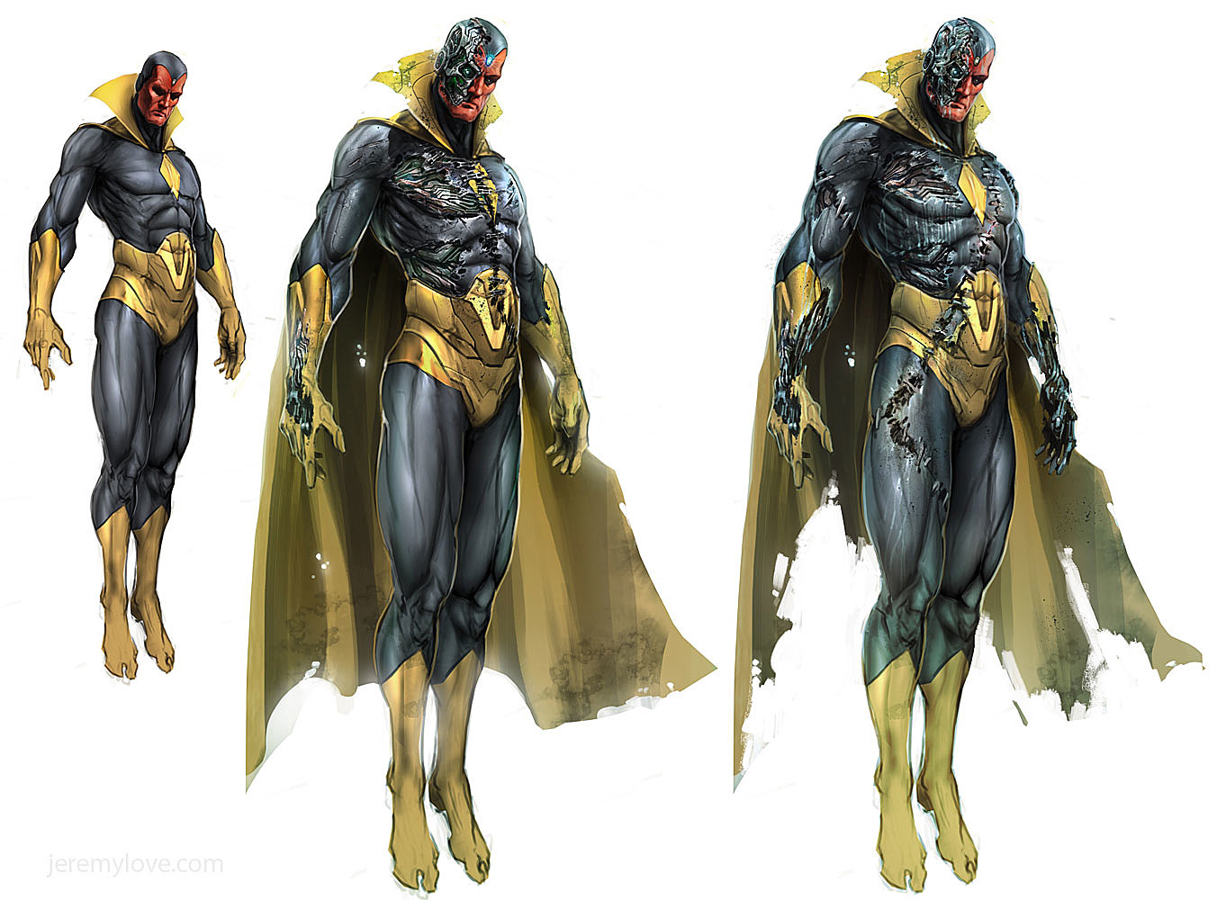 Shapeshifter Character Design : Canceled skrull filled avengers project yields tons of
