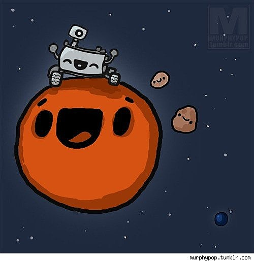 mars rover cartoon - photo #10